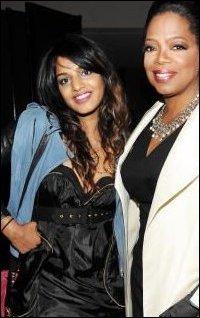 Maya, Oprah at Times gala