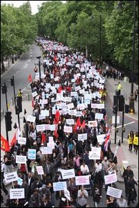 Protest in UK against internment camps in Sri Lanka