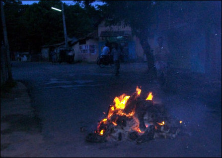 Newspapers attacked in Jaffna
