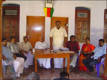 TNA Press Conference in Jaffna