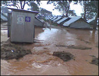 Flooding in Vavuniyaa internment camps