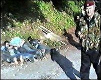 Srebrenica massacre of 6 Bosnian Muslims
