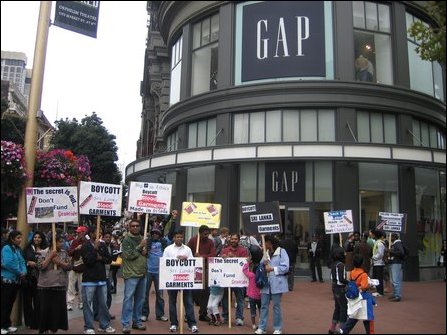 Picketing in San Francisco