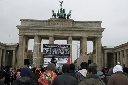 Rally in Berlin