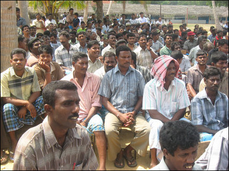 The IDPs held in Koapaay and Kaithadi in Jaffna district