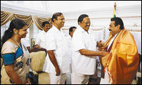 TN delegation meets Rajapaksa