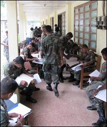 SL Armed Forces personnel in Jaffna