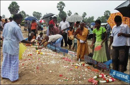 Tsunami victims remembered in Jaffna