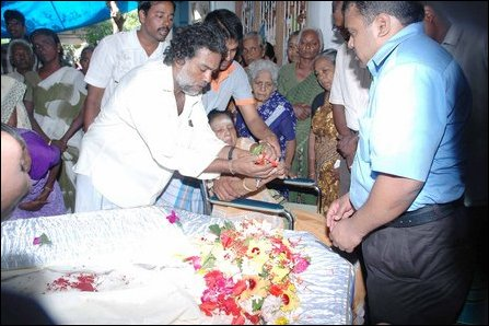 Funerl of Mr. Thiruvengadam Velupillai