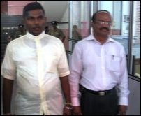 TMVP submits candidates list in Jaffna