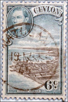 Colonial stamp