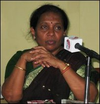 Mayor of Jaffna Ms. Yogeswary Patkunam