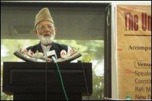 Ayed Ali Shah Geelani, APHC Kashmir