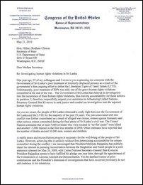 Dreihaus letter to Clinton