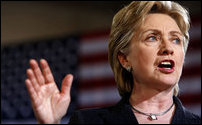 US Secretary of State, Hillary Rodham Clinton