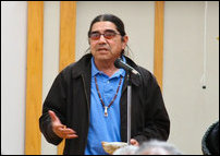 Mr.Tony Gonzales, Director of the American  Indian Movement