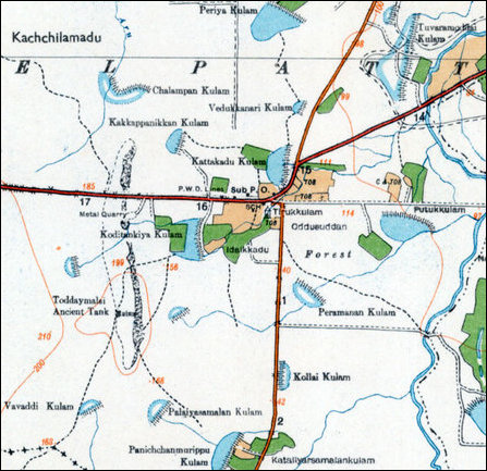Odduchuddaan map