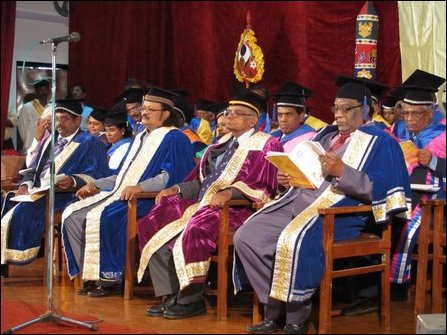 Ganesaratnam receives honorary degree