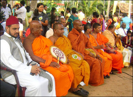 SL Govt. stages Natar ceremony in Jaffna