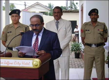 Republic Day of Indian observed in Jaffna