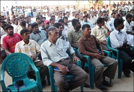 Fishermen society representatives meet in Point Pedro