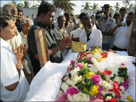 Parvathi Amma's funeral