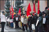 Feb 04, 2011 protest in Toronto