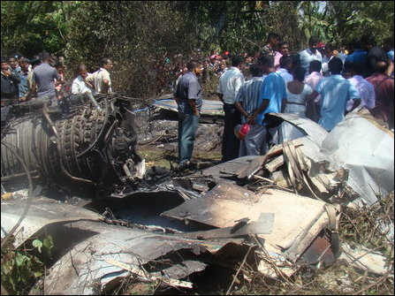 SLAF crash site