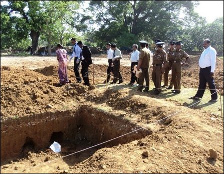 Human skeletons found in ex SL military camp