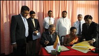 India - SL agreement on KKS