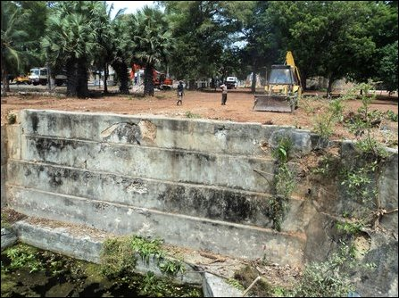 Old Park destruction by occupying SL Governor in Jaffna