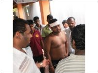 Student leader attacked in Jaffna