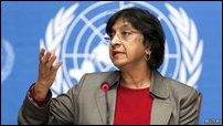 Navi Pillay, UN High Commissioner for Human Rights