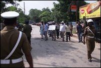 Jaffna picketing