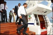 Mohamed Nasheed on SL visit