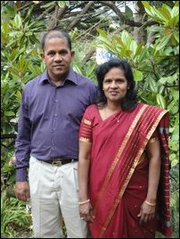 George Arulanantham and Anne Umadevi George