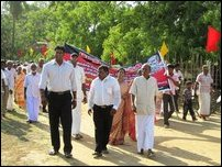 May Day rally by TNPF