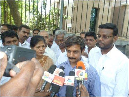 Tamil Nadu activists protest