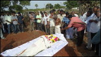 Funeral of Nimalarooban