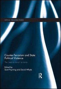 Book cover: Counter-Terrorism and State Political Violence