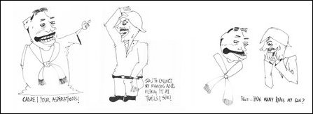 Rajapaksa cartoon