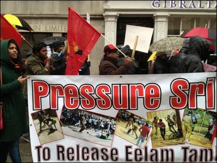 TamilNet: 22.12.12 Tamil youth protest in London condemns ...