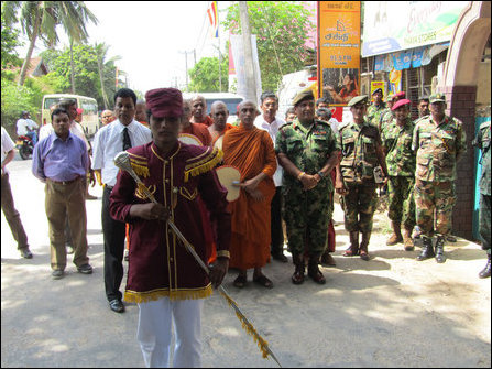 Buddhicisation in Jaffna