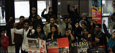 Student protests in Canada