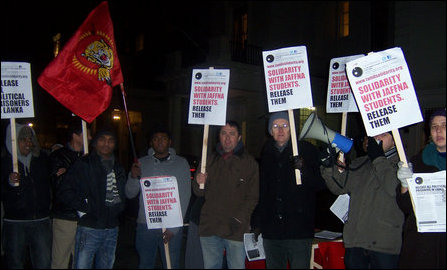 Tamil Solidarity protest