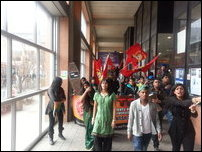 SL Indep Day protest in Canada