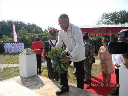 IPKF memorial in Palaali
