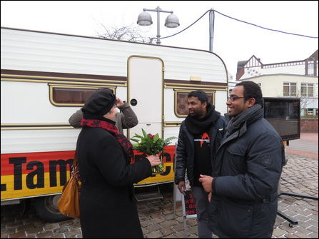 """Tamil Van"" in Hanover, Germany"