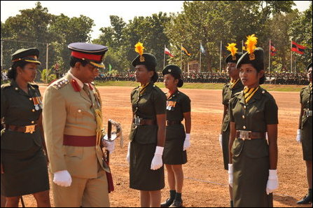 Tamil girls forcibly recruited by SLA