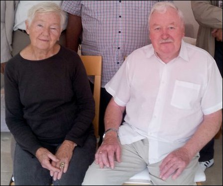 John Carswell and Mrs Peggy Carswell